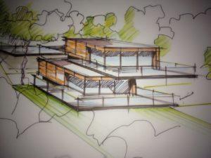 projet maison individuelle en corten
