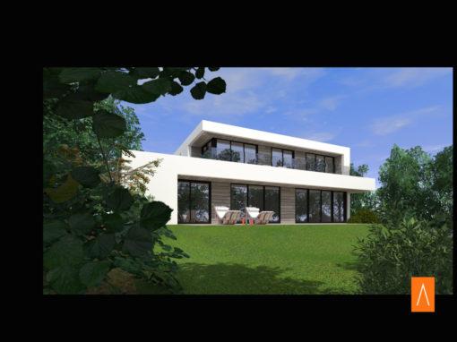 maison architecte cubique 1