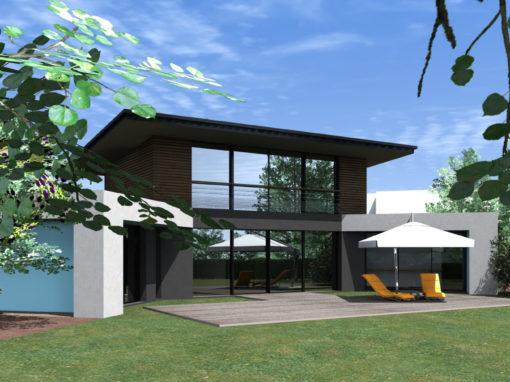 maison design Concarneau architecte