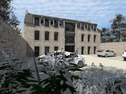 rénovation centre médical